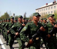 Кыргызстандын аскер жоокерлери. Архив