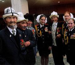 Ветеран Великой Отечественной Войны Жумабек Кошмуратов