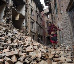 Землетрясение в Непале. Архивное фото