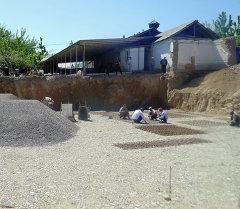 Кара-Суу: Шарк айыл өкмөтүндө 3 кабаттуу мечиттин курулушу башталды