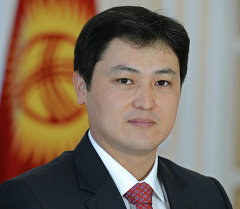 Президенттик аппараттын жетекчисинин 1-орун басары Улукбек Марипов
