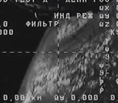 Последние кадры с падающего Прогресса М-27М Съемка камеры на борту