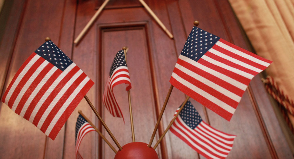 Флаги США, Архивное фото