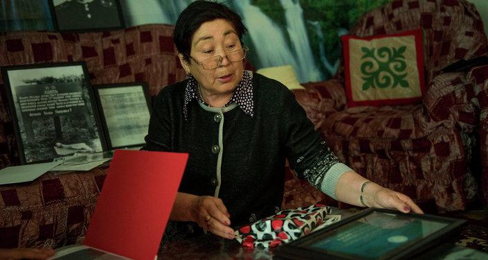 Мамбеталиева Суракан — родственница летчика Героя Советского Союза Таранчиева.