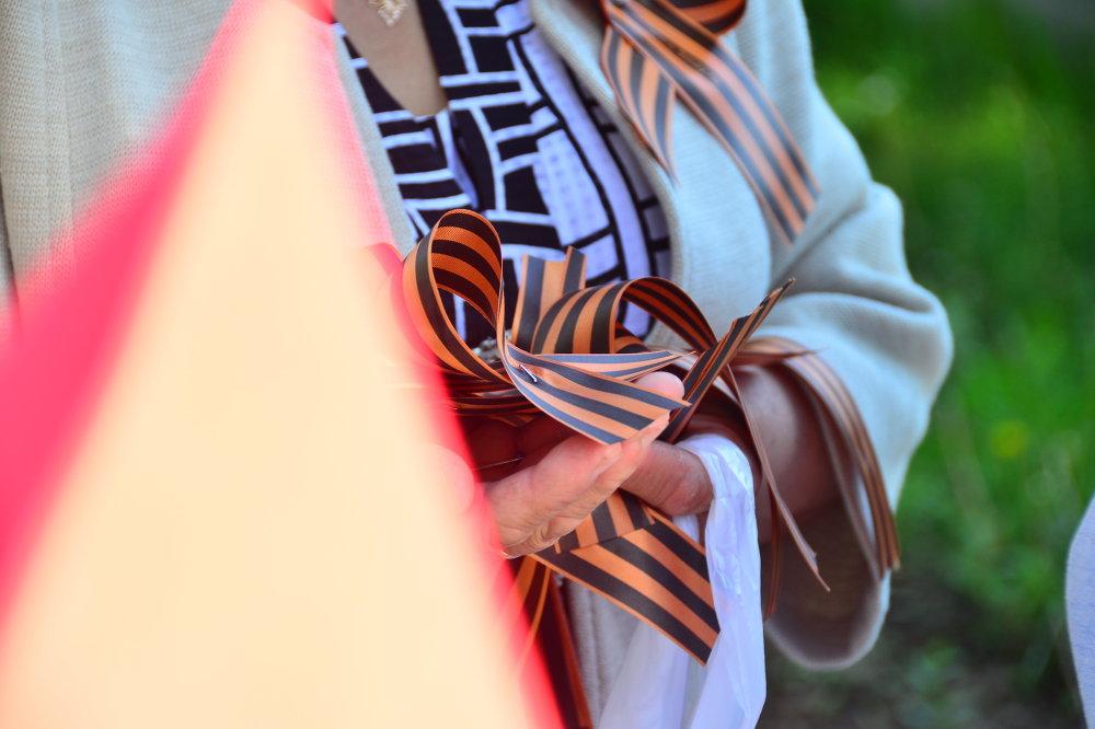 Георгиевская лента как символ Победы.