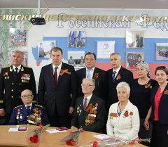 РФ элчиси ардагерлерге медаль тапшырды. Архив
