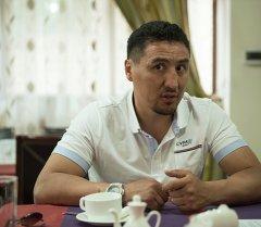 Кыргыз боксерчу Алмазбек Раимкулов. Архив