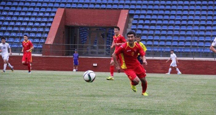 Олимпийская сборная КР по футболу сыграла вничью со сборной Узбекистана