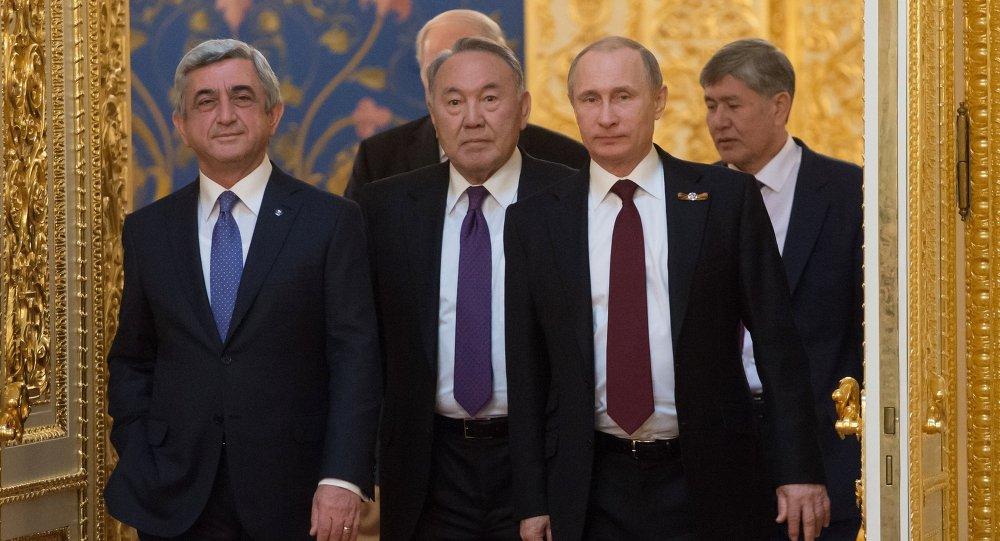 Заседание Высшего Евразийского экономического совета на уровне глав государств (ВЕЭС)