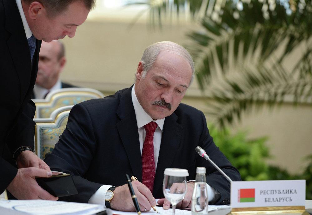 Белоруссия президенти Александр Лукашенко.