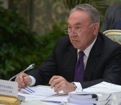 Казакстандын президенти Нурсултан Назарбаев. Архив