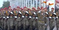 LIVE: Парад Победы на площади Ала-тоо