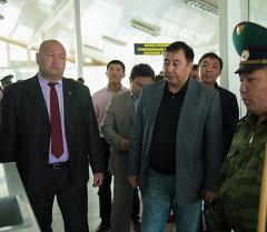 Вице-премьер Абдырахман Маматалиев. Архив