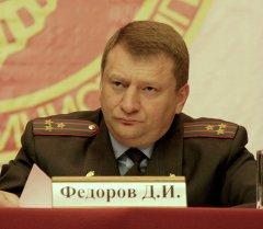 Милициянын полковниги Дмитрий Федоров. Архив