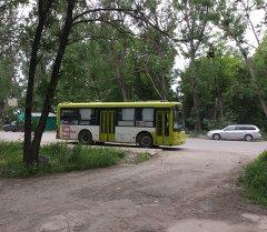 Автобусы в Бишкеке для общественного передвижения