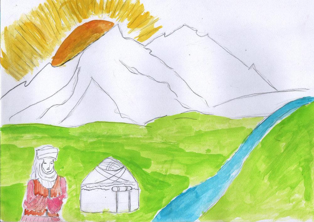Мама — это горы, окружающие нас, и солнце, дарующее нам жизнь.