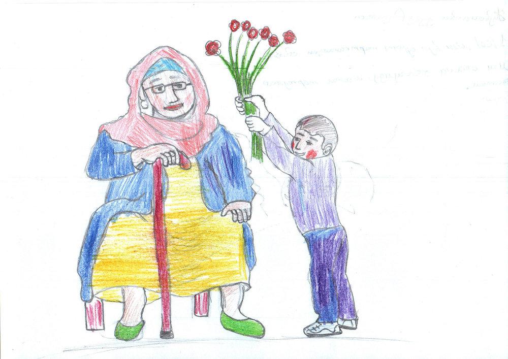 Нет ничего проще, чем подарить цветы, и нет ничего важнее, чем улыбка мамы.