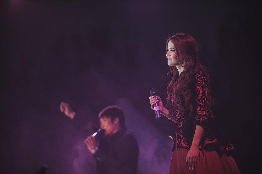 Кроме звезд отечественной эстрады для бишкекчан спели российские певцы.