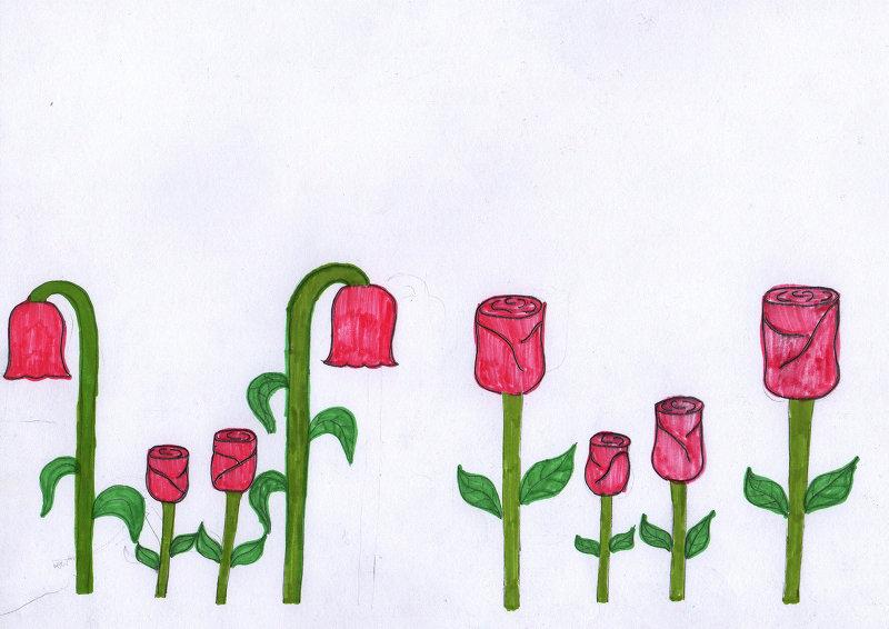 Я маму видела, только весной когда цветут одуванчики