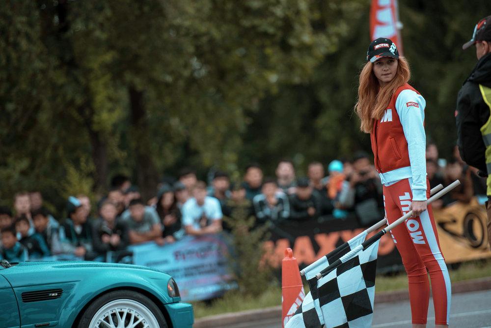 В Бишкеке прошел чемпионат Кыргызстана по автослалому.