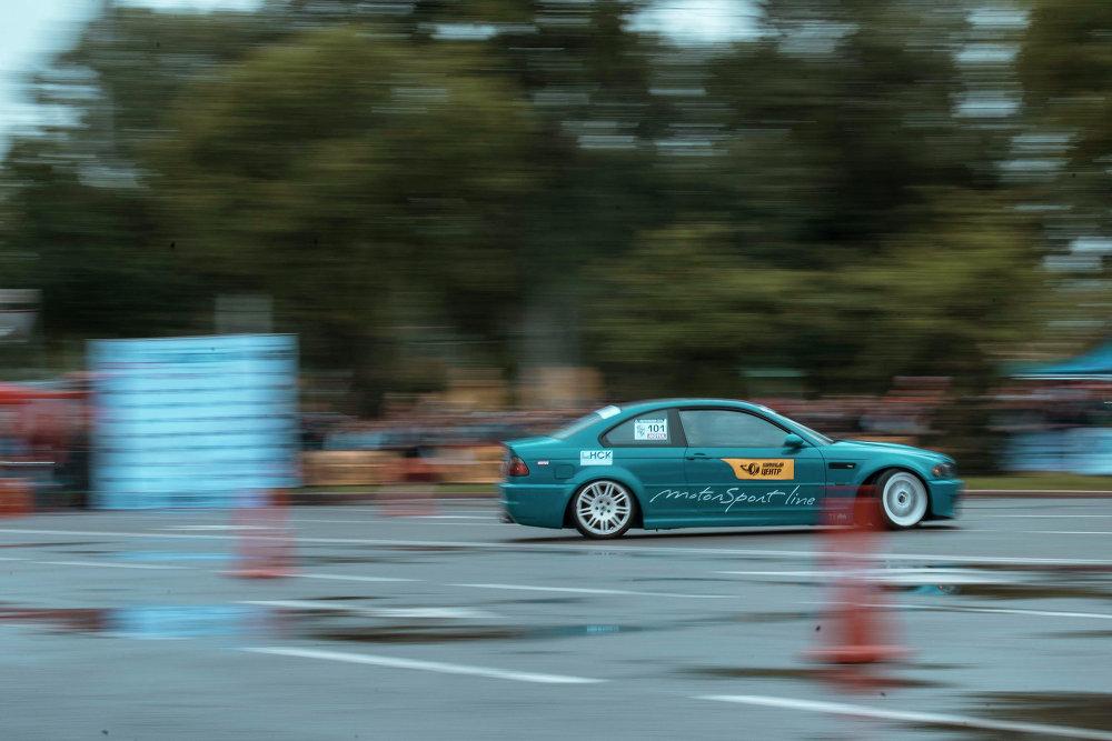 Участники гонки должны были показать самое короткое время заезда.