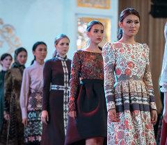 Показ одежды в Бишкеке. Архивное фото
