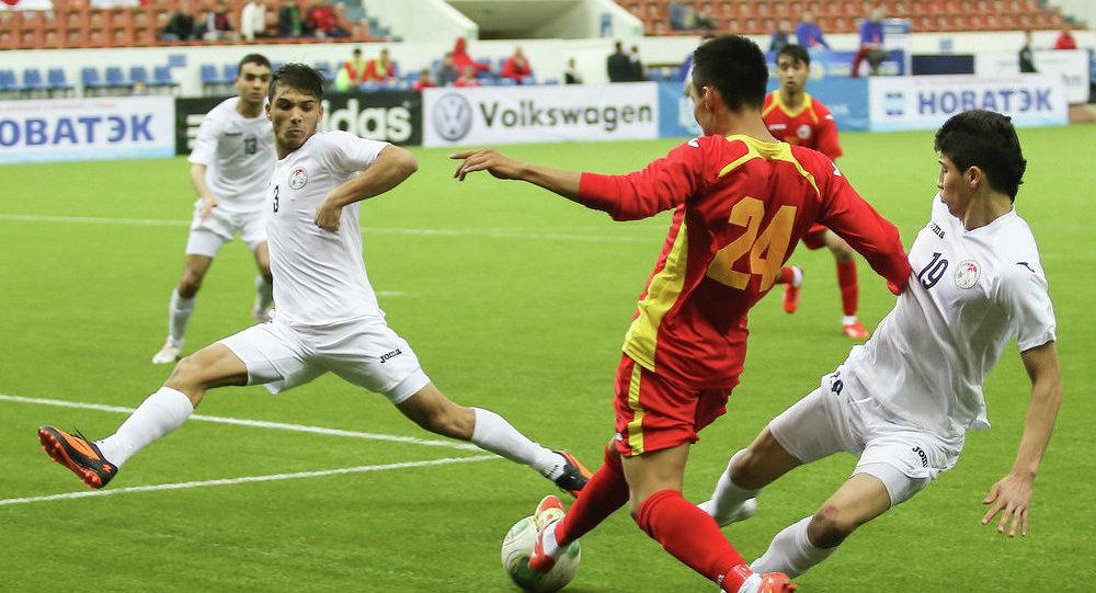 Иордания Кыргызстан футбол беттешинде. Архив