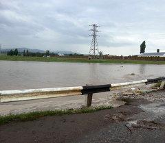 Селевые потоки в Сокулукском районе