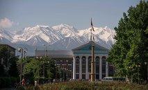 Здание мэрия города Бишкек. Архивное фото