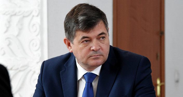 Министр экономики Кыргызской Республики Олег Панкратов. Архивное фото