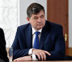 Министр экономики Кыргызской Республики Олег Панкратов. Архив