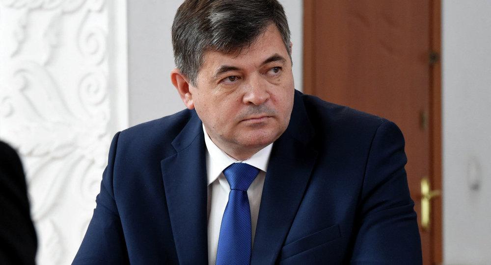 Вице-премьер-министр Олег Панкратов. Архивное фото
