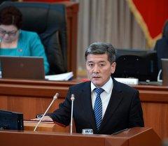 Бывший министр транспорта и дорог КР Аргынбек Малабаев. Архивное фото