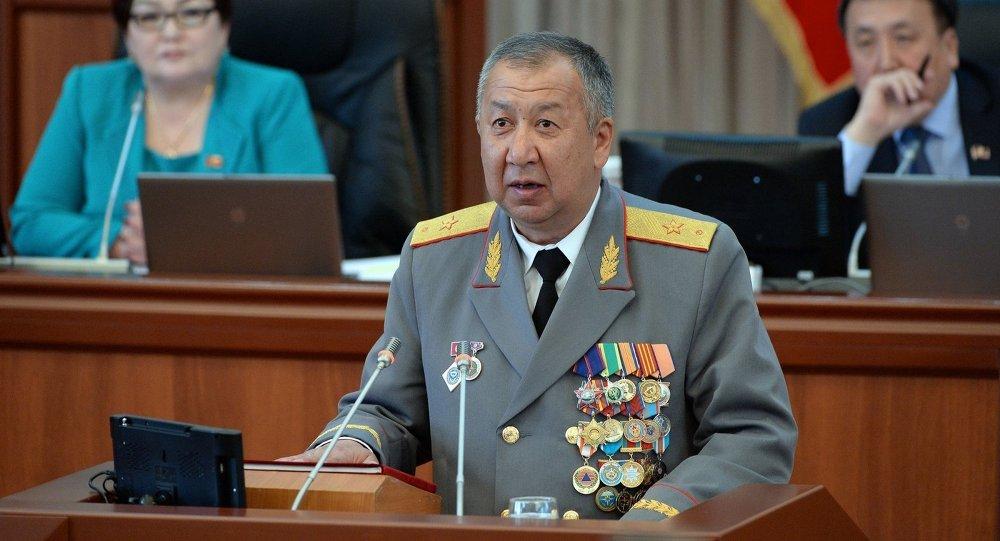 Министр чрезвычайных ситуаций Кыргызской Республики Боронов Кубатбек. Архивное фото