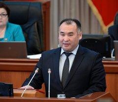 Премьер-министрдин экономика боюнча кеңешчиси Кубанычбек Турдубаев. Архив
