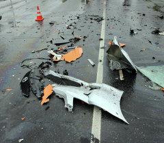 Четыре человека погибли под Псковом в результате лобового столкновения