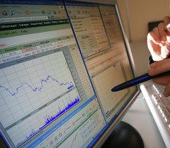 Работник биржи. Архивное фото