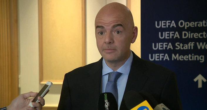 Это катастрофа – генсек УЕФА Инфантино об арестах чиновников ФИФА