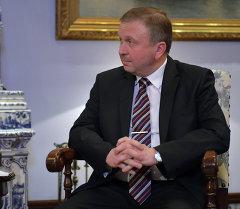 Беларусиянын премьер-министри Андрей Кобяков. Архив