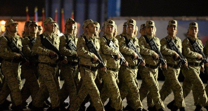 Военнослужащие Азербайджана. Архивное фото