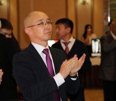 Маданият, маалымат жана туризм министринин орун басары Максат Чакиев. Архив