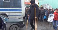 Самый высокий кыргызстанец пытался заработать себе на лечение