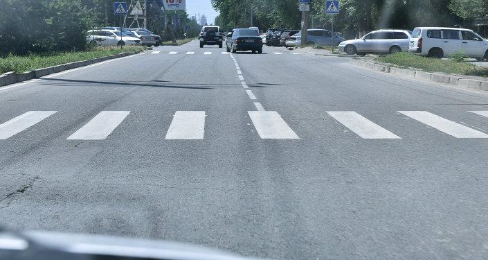 Разметки на дорогах. Архивное фото