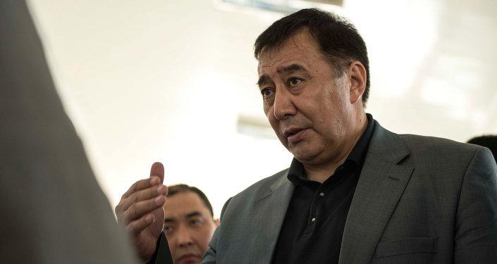 Кыргыз Республикасынын вице-премьер-министри Маматалиев Абдырахман Мадакимович