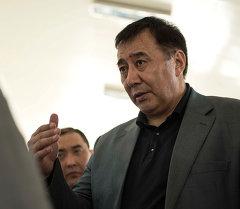 Вице-премьер-министр Кыргызской Республики Маматалиев Абдырахман Мадакимович. Архивное фото