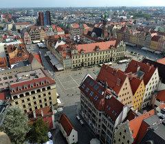 Вроцлав шаары, Польша. Архив