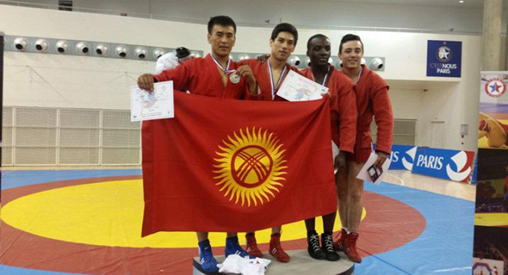 Кыргызстандын улуттук курамасынын самбо федерациясы