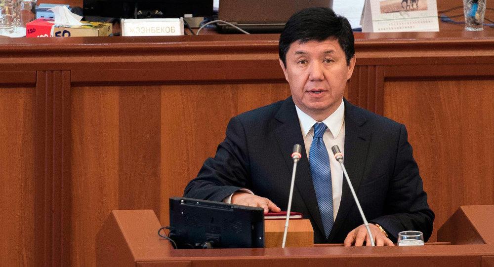 Премьер-министр Кыргызстана Темир Сариев