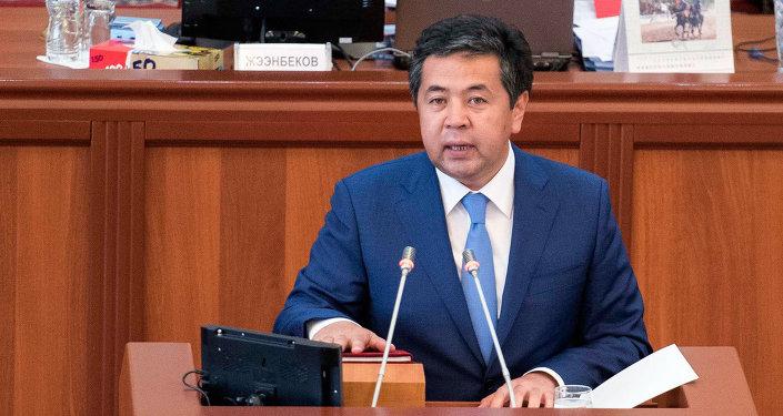 Прежнего вице-премьера Киргизии Сарпашева подозревали взлоупотреблениях