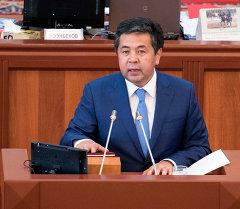 Первый вице-премьер-министр Кыргызской Республики Сарпашев Тайырбек Дуйшекеевич